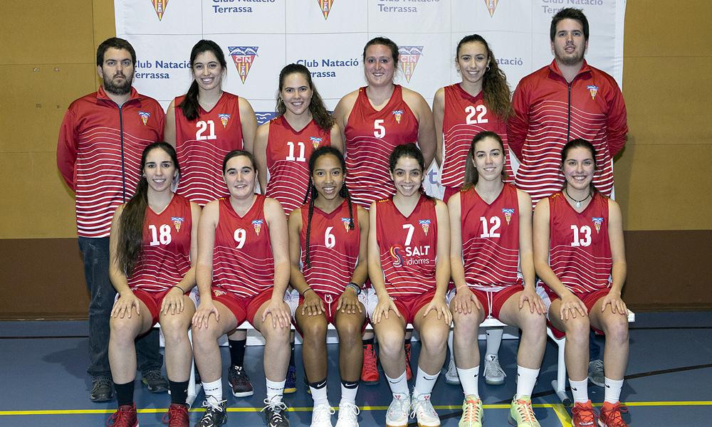 Equip de Bàsquet Sénior Masculí B del Club Natació Terrassa