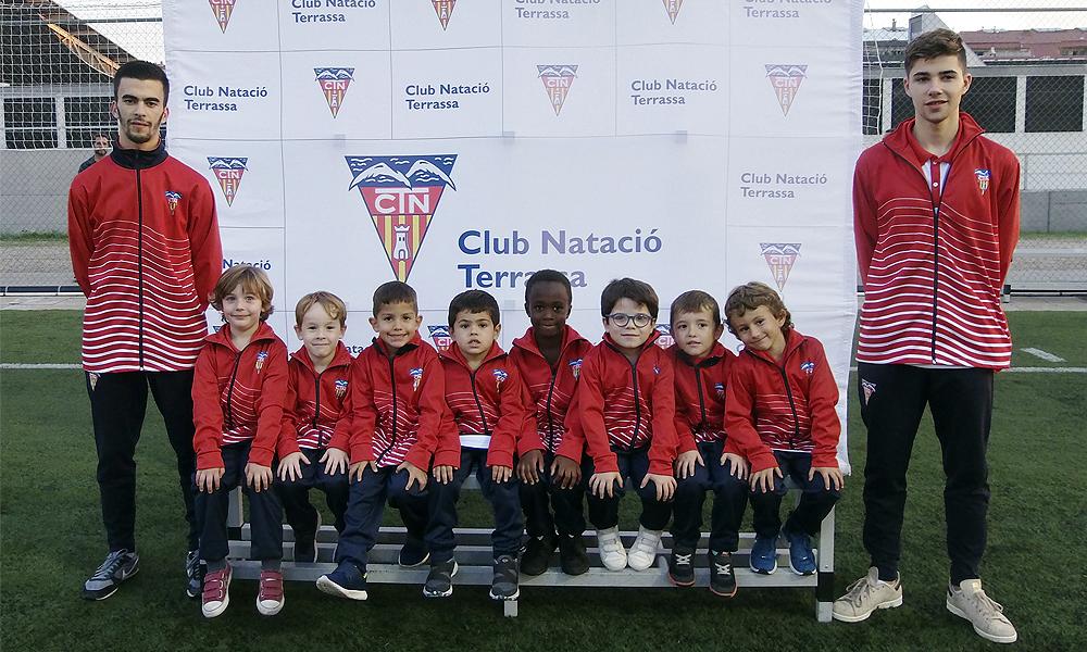 Equip de Futbol Debutants del Club Natació Terrassa