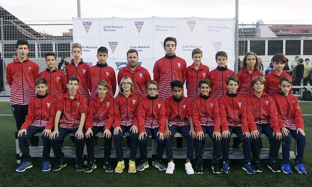 Equip de Futbol Infantil C del Club Natació Terrassa