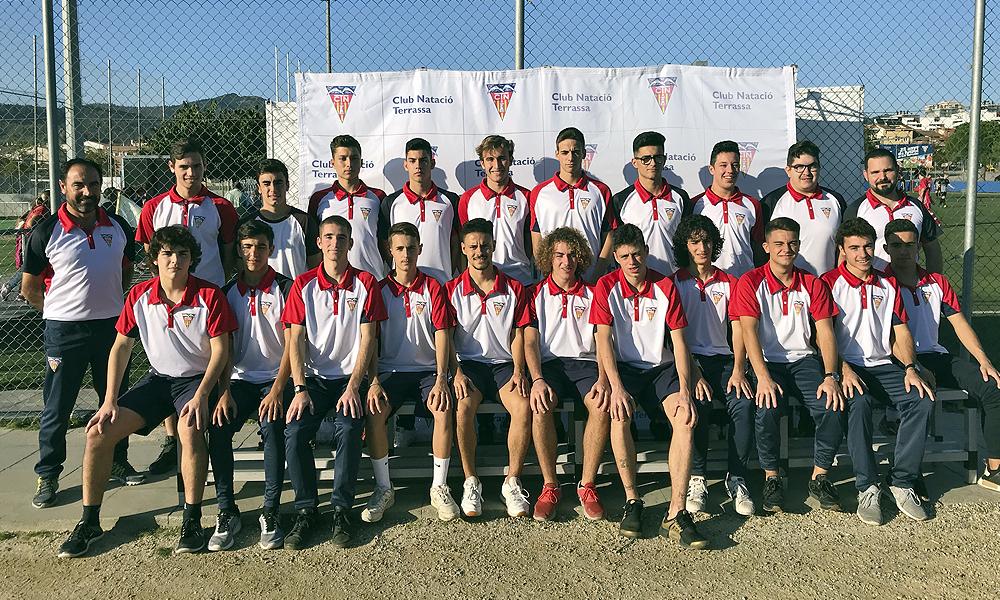 Equip de Futbol Juvenil A del Club Natació Terrassa