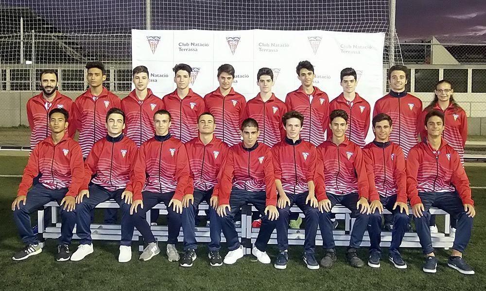 Equip de Futbol Juvenil B del Club Natació Terrassa