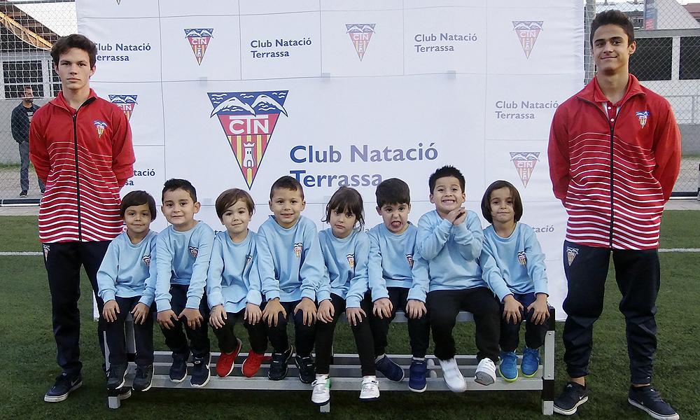 Equip de Futbol Patufets del Club Natació Terrassa