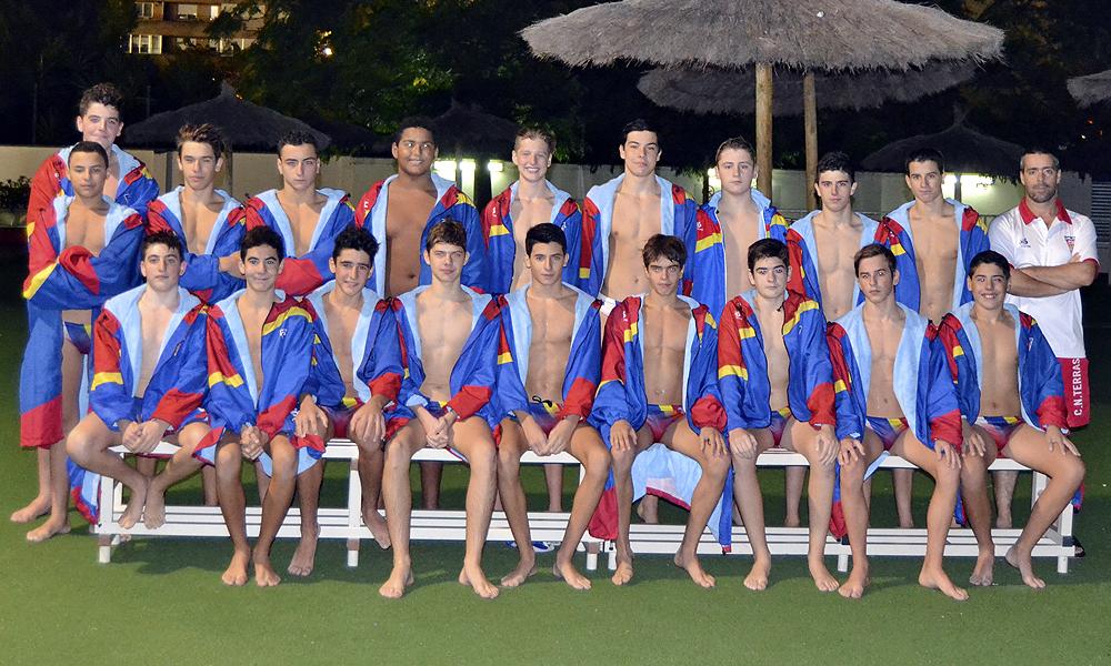 Equip de Waterpolo Cadet Masculí del Club Natació Terrassa