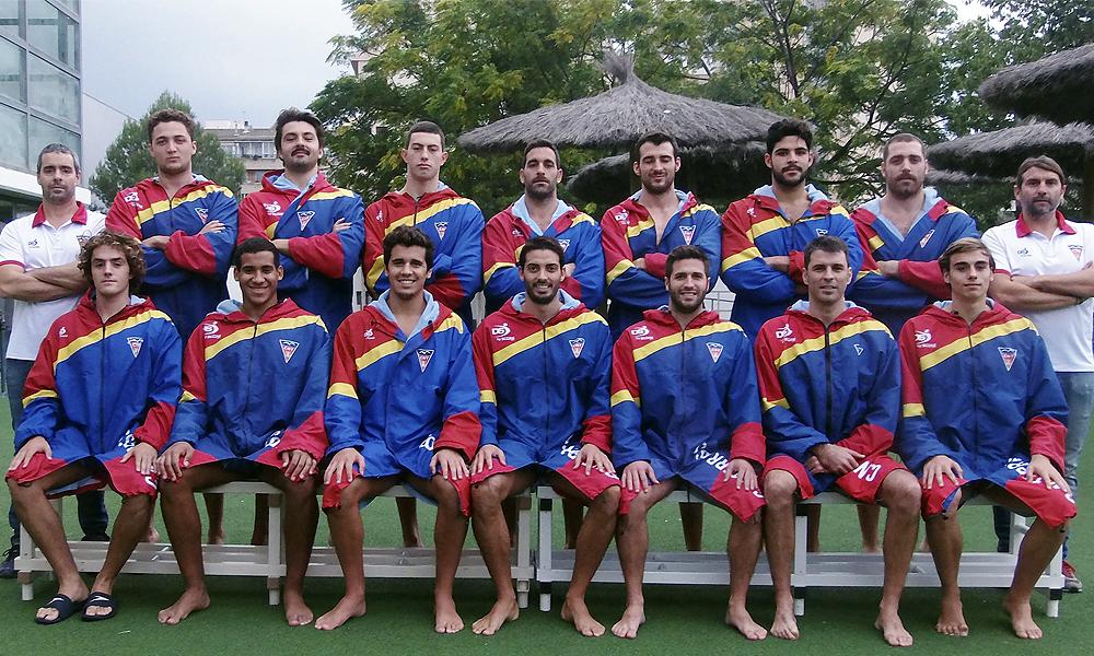 Equip de Waterpolo Sénior Masculí del Club Natació Terrassa