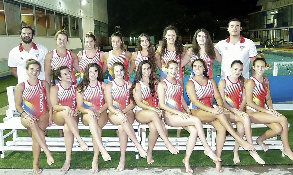 Equip de Waterpolo Sénior Femení del Club Natació Terrassa