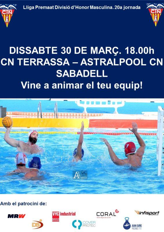 Cartell CNT-Sabadell 20a jornada masc
