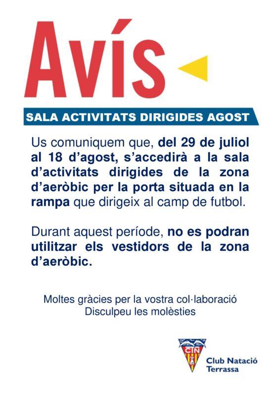 FITNESS Activitats Agost aeròbic 1