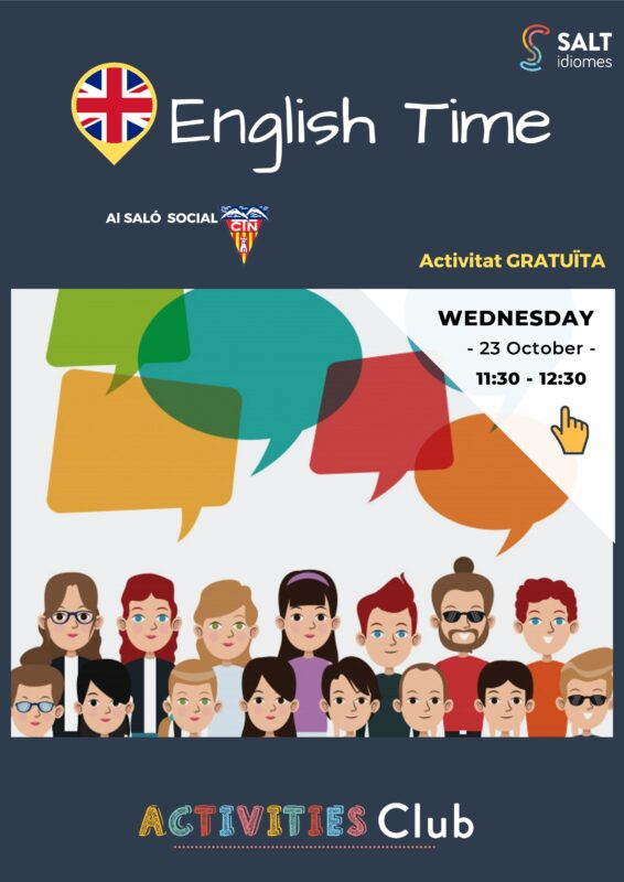 Pòster A3 - English Time (1T)-001