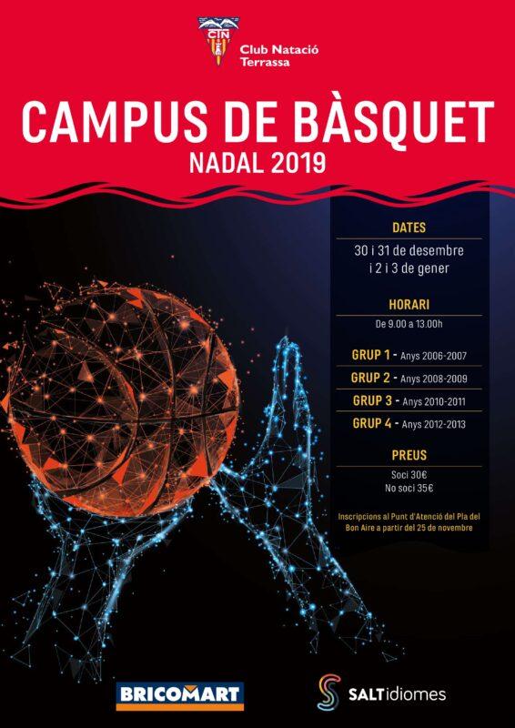 Cartell Campus de Nadal BQ