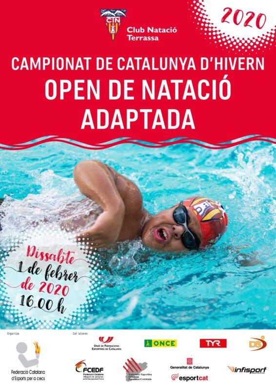 Campionat Catalunya Natació adaptada