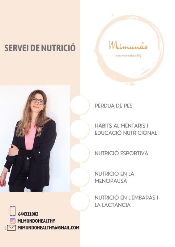 SERVEI DE NUTRICIÓ